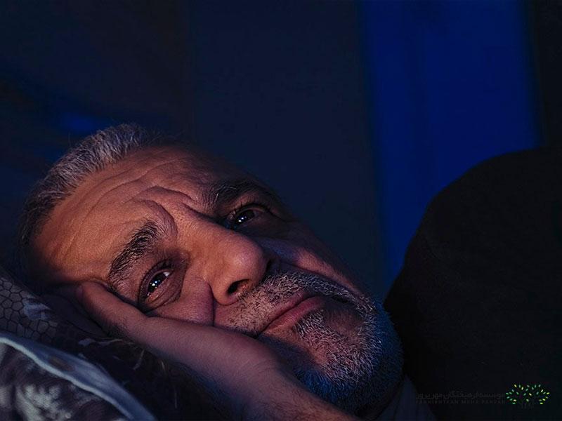 کم خوابی در سالمندان